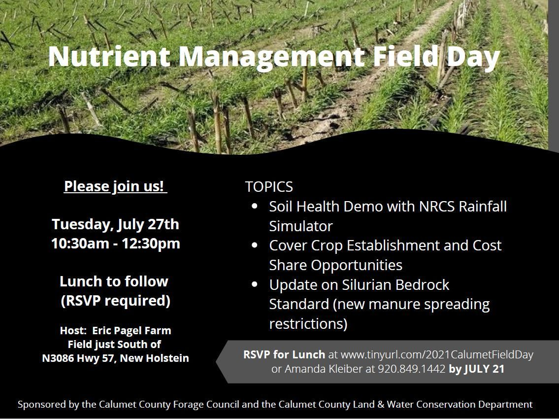 Nutrient Management Field Day